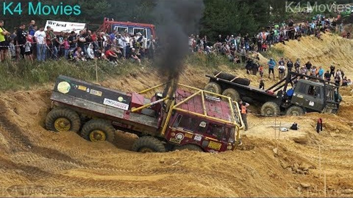 8X8 Tatra truck | Truck trial | Kunstat 2017 | participant No. 551