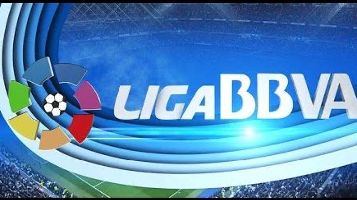 Футбол. Ла лига, чемпионат испании по футболу. Часть 1. 30 тур. Турнирная таблица и результаты