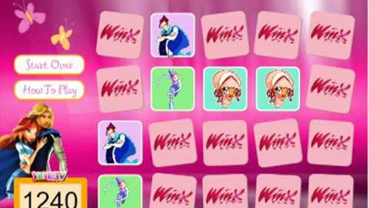Winx Memory trova le carte magiche delle fatine - Giochi Winx Enchantix