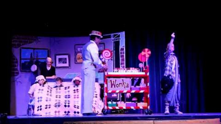 Willy Wonka 5 (Cheer Up Charlie - Golden Ticket) End of Act 1