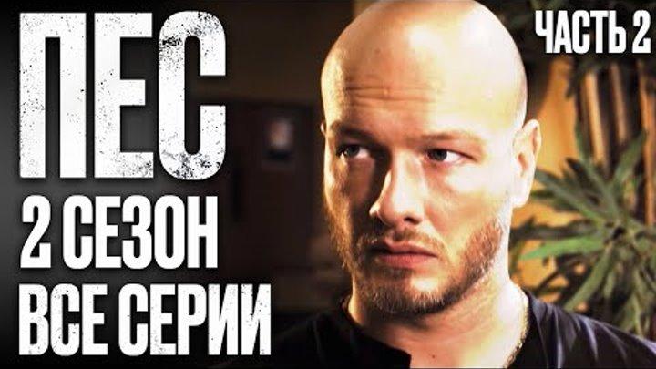 Сериал ПЕС - ПОЛНЫЙ 2 сезон - ВСЕ СЕРИИ ПОДРЯД - ЧАСТЬ 2 | Сериалы ICTV