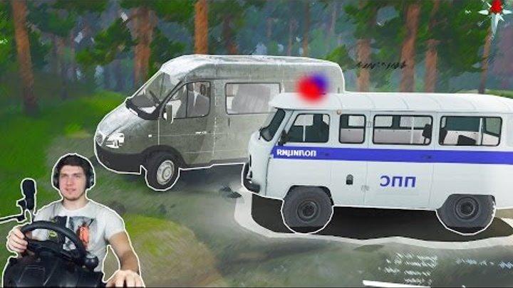 ПОЛИЦЕЙСКИЙ КОНВОЙ - ДОРОГИ СЕВЕРА в SPINTIRES + РУЛЬ Logitech Driving Force GT