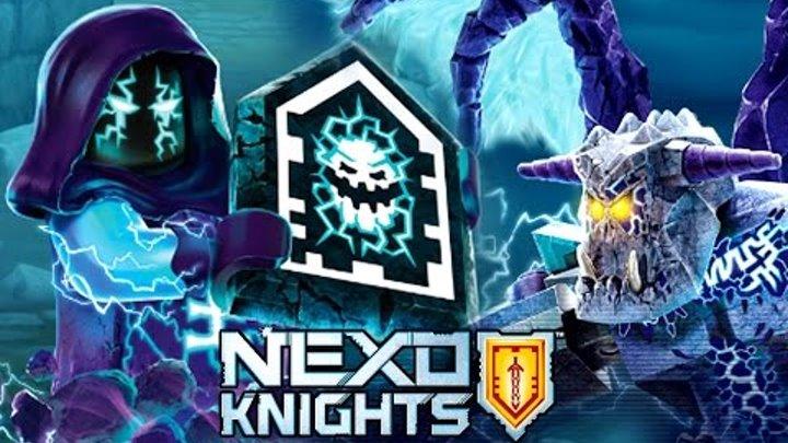 Lego Nexo Knights Merlok - Игра про Мультики Лего Нексо Найтс 2017 Видео для Детей