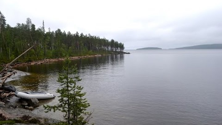 Рыбалка в Карелии. Пяозеро. Деревня Зашеек. Июль 2015 / Russian fishing. North Karelia. July 2015.