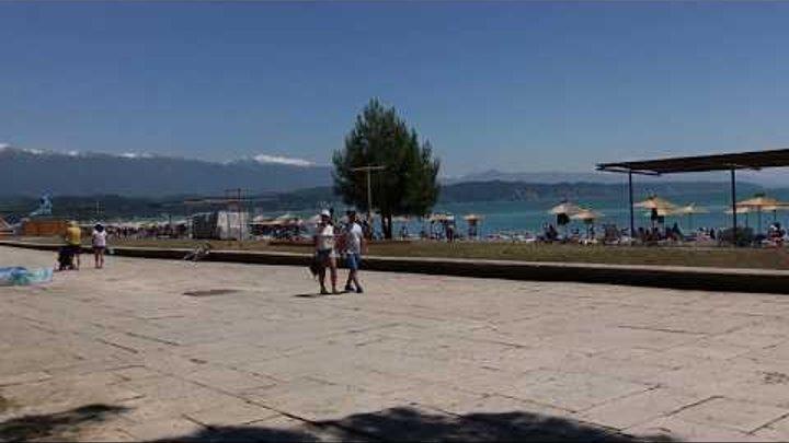 Абхазия 2017. Апсны. Отдых. Travel. Цены. Отзывы. 4. Курорт Пицунда. Пляж. Реликтовая сосновая роща.