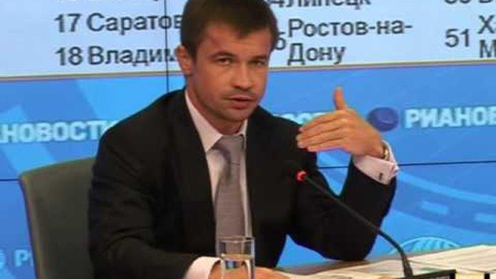 экологический рейтинг городов РФ