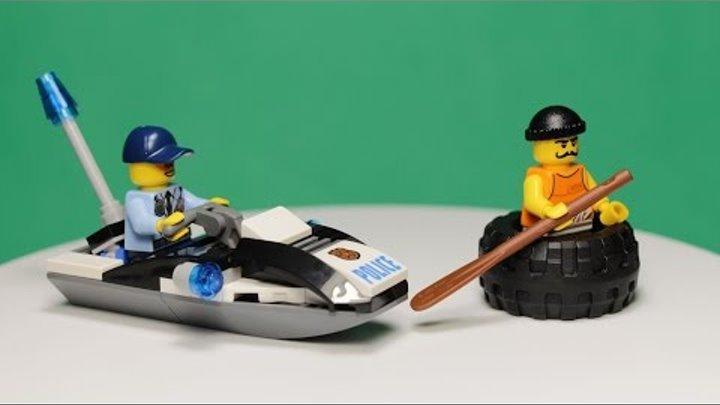 LEGO CITY - IRE ESCAPE, 60126 / ЛЕГО СИТИ - ПОБЕГ В ШИНЕ, 60126.