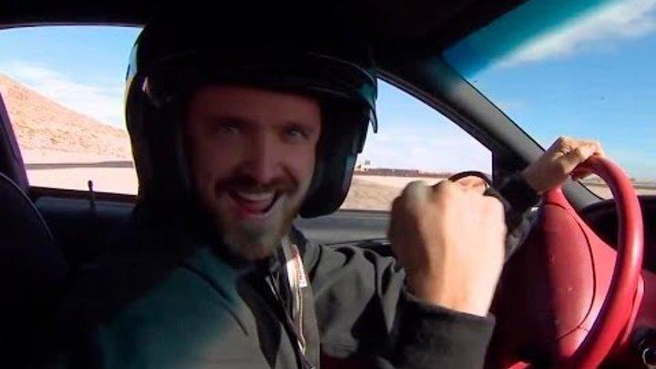 Аарон Пол учится экстремальному вождению для «Need for Speed: Жажда скорости»