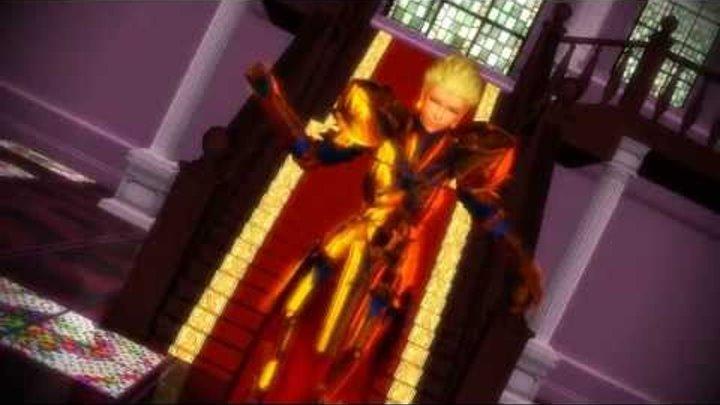 [MMD Fate Zero] Antichlorobenzene (Gilgamesh)