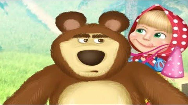 Игра для девочек МАША И МЕДВЕДЬ Наряжаем Машу и Медведя Видео для детей #ПРОСТОИГРЫ.