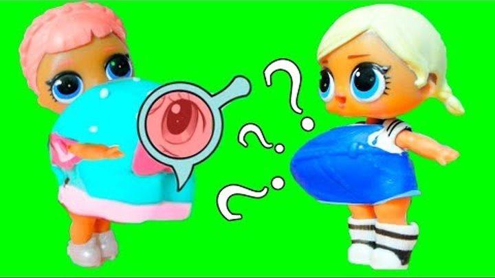 Куклы ЛОЛ самая толстая подружка ♥ Беременная кукла LOL мультик для девочек / LOL doll fatty