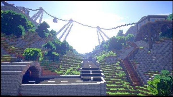 ДОРОГА В РАЙ в майнкрафт - Серия 28 - Minecraft - Строительный креатив 2