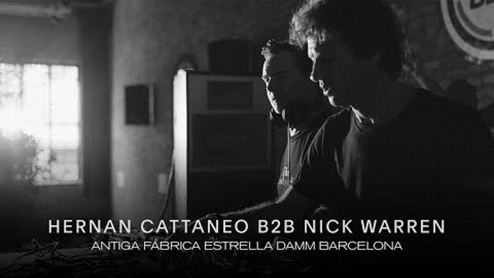 Hernan Cattaneo B2B Nick Warren @ Antiga Fabrica Estrella Damm I We Must 2018 I Barcelona