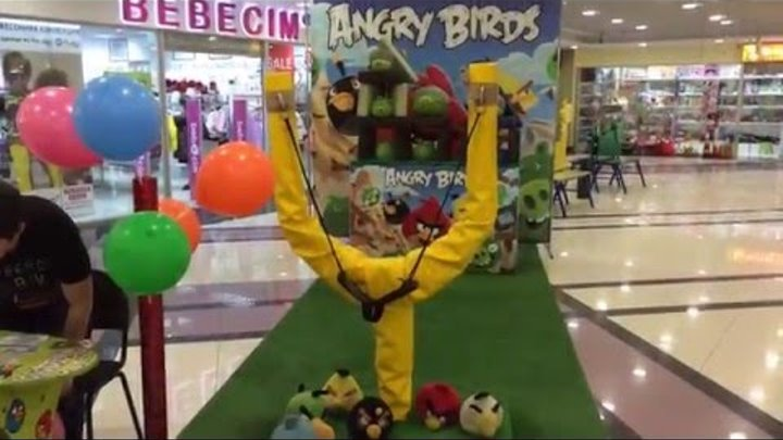 Angry Birds – Злые Птицы, Мирочка выходит на тропу войны!!!!