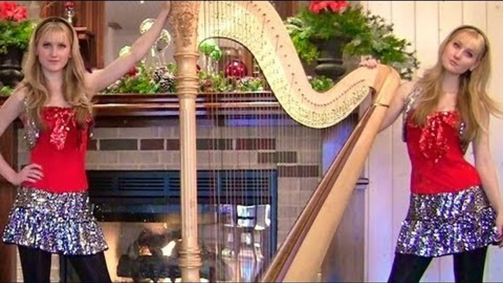O HOLY NIGHT (Harp Twins) Camille and Kennerly, Harp Duet
