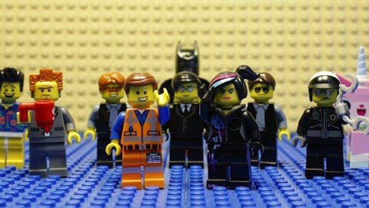 LEGO Everything is Awesome Music Video (Song from the Lego Movie!)