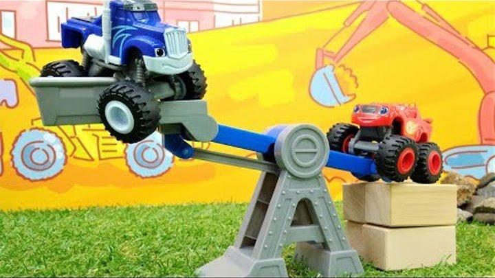 Машинки Вспыш - Игрушки для мальчиков - Приключения на стройке