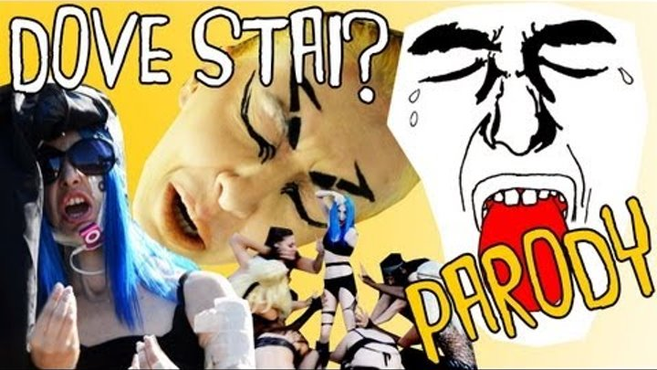 Lady Gaga - You and I (DOVE STAI?) Very Italian Trash Parody