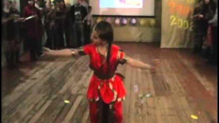 Индийский танец - 2 февраля 2013 г.