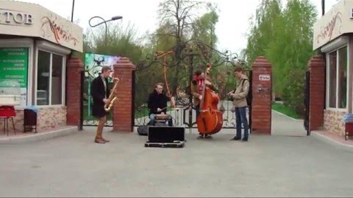 20160201 - Сызранские уличные музыканты открыли сезон