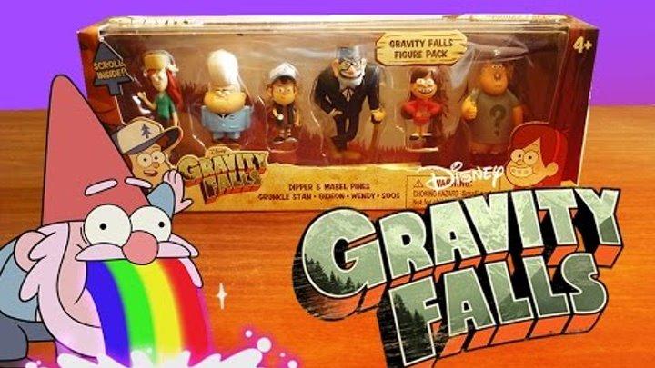 Обзор игрушек (6 фигурок) Гравити Фолз (Gravity Falls)   G4SKY.ru