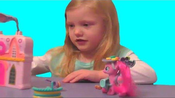 Домик Пинки Пай Магазин пончиков Пинки Пай - распаковка и обзор игрового набора My Little Pony