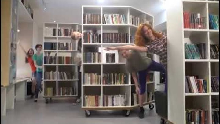Библиотека вверх тормашками