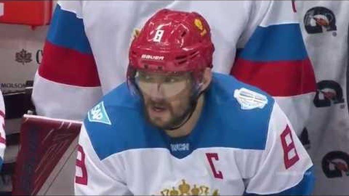 Россия-Северная Америка U23 4:3 20.09.16 Хоккей. Кубок Мира 2016
