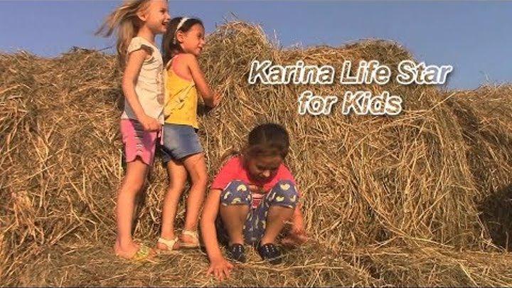 Игра в прятки. Peekaboo. 20 тонн сена. Игры для детей. Видео для детей.
