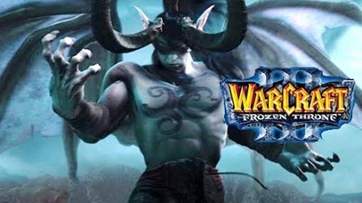 """Фильм """"WarCraft 3: Frozen Throne"""", Часть 1: Ужас из Глубин [60fps, 1080p]"""