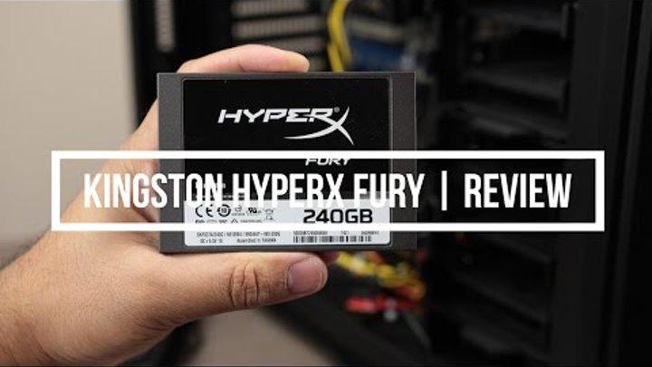 Kingston HyperX FURY SSD   Review