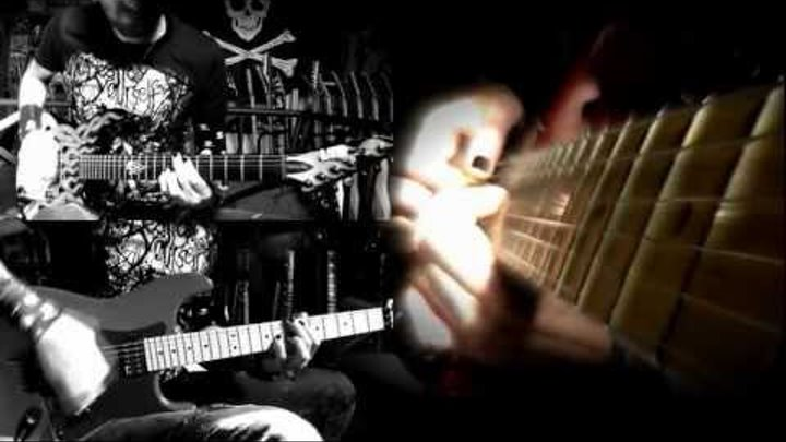 Nemesis guitar cover - Arch Enemy (Full HD)