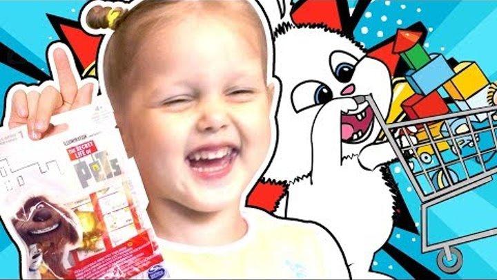 Тайная жизнь домашних животных Три серии подряд про Кролика Снежка Pets Видео Без Остановки Сборник