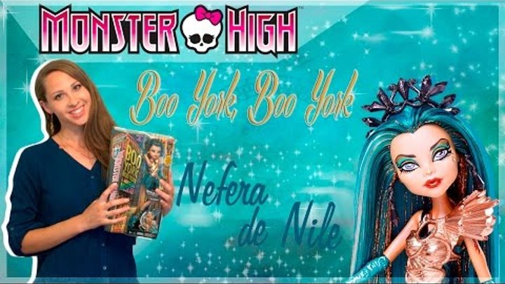 Нефера Де Нил Nefera de Nile из серии Boo York, Boo York (Бу Йорк, Бу Йорк) обзор на русском языке
