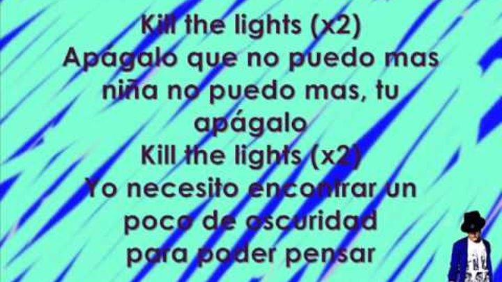 Kill the Lights - Abraham Mateo (Letra-Lyrics)