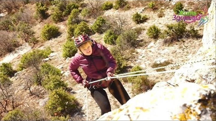 """Видео-проект """"ЖИТЬ ЗДОРОВО"""" 3 сезон: поход - спуск с веревками в Таврскую пещеру"""