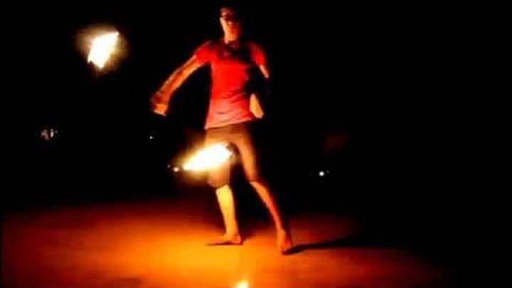 Ауровиль - Игра с огнем Auroville 2015