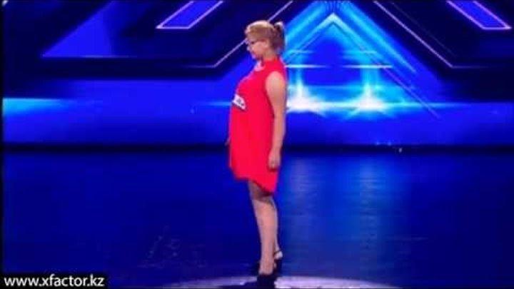Азиза Баймухамбетова. X Factor Казахстан. Прослушивания. 1 серия. 6 сезон.
