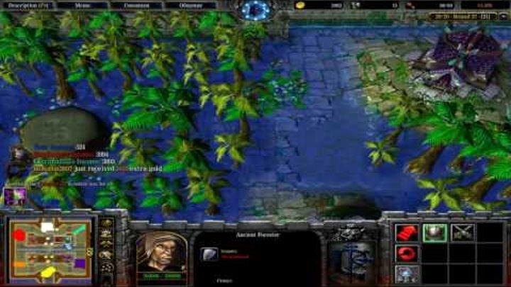 Warcraft Варкрафт TTW Бой на центре