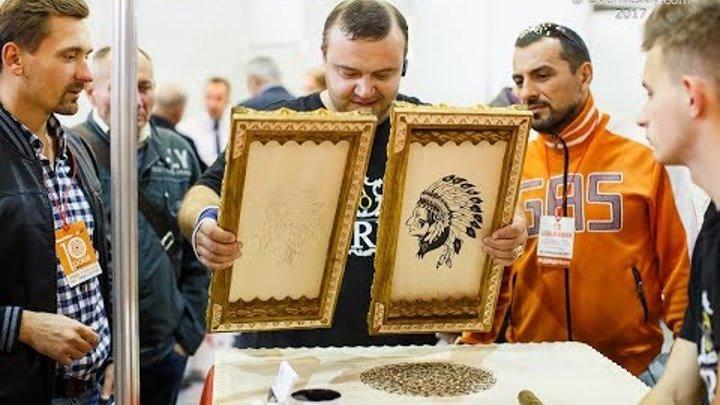 Резьба по дереву. Фотографии выставки Lisderevmash Киев 2017