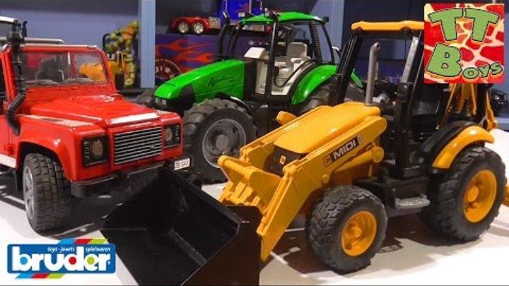 BRUDER. Большая бетономешалка Mercedes-Benz. Игрушечные машинки для детей Bruder Toy Cars