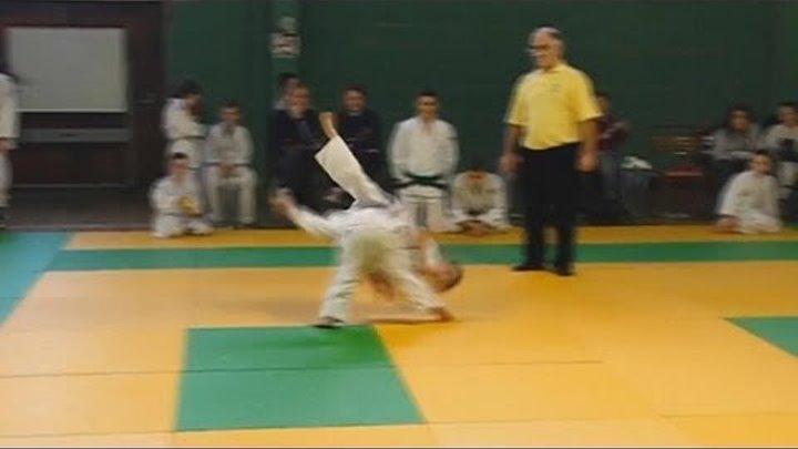 Little Girl - Judo Fighter.