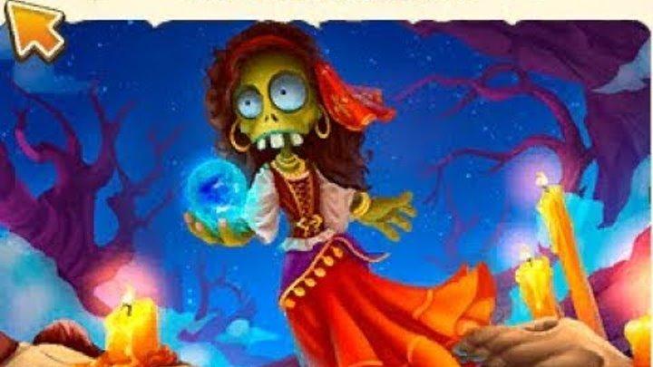 Зомби ферма долгожданный хэллуин ,остров мёртвых 1 серия на Зомби мире