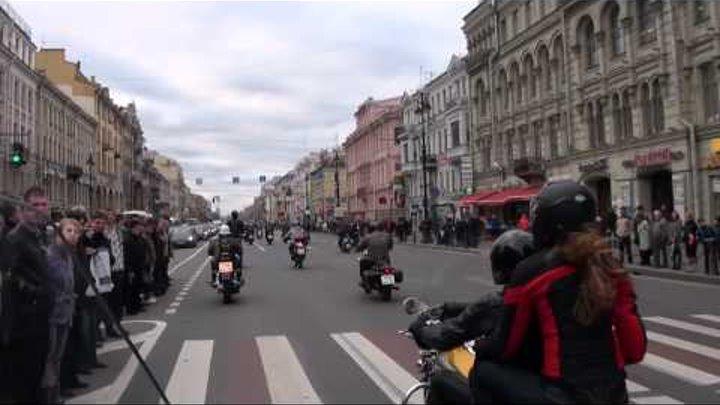 Закрытие мотосезона 2011 Санкт-Петербург (01.10.2011)
