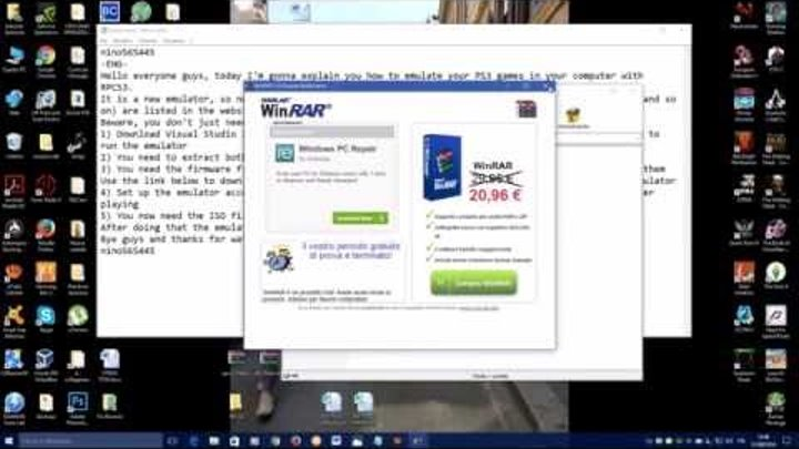 How to download RPCS3 Emulator + firmware PS3! (UPDATED)