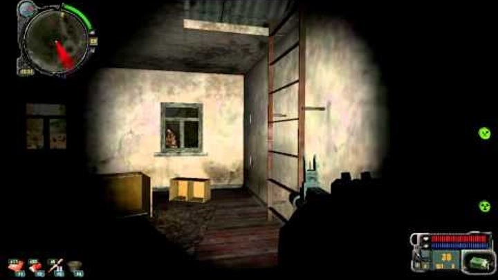 Stalker call of pripyat Инструменты на затоне №2