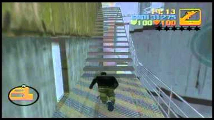 Прохождение GTA 3 Миссия #21 Бомба на базе часть 2.