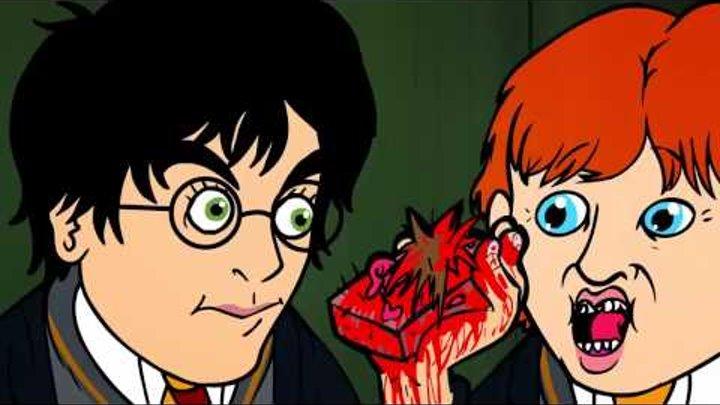 Hardon Potter Harry Potter Parody 18 - Oney C/Пародия на Гарри Поттера 1 серия[Дубляж]