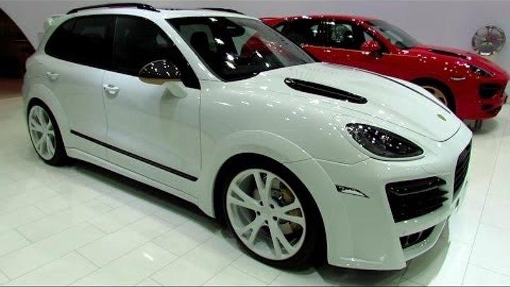 2013 Porsche Cayenne Turbo - TechArt Magnum Edition Gold - Exterior and Interior Walkaround
