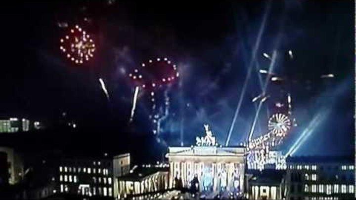 Feuerwerk Silvester 2011 - 2012 Berlin Brandenburger Tor